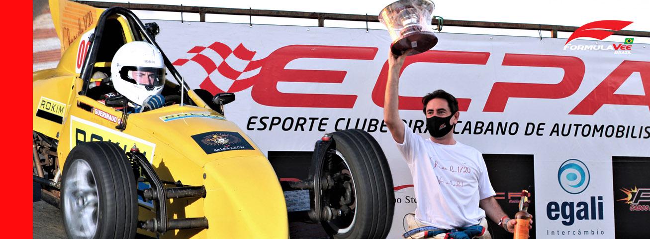 Piloto francês conquista o Troféu Ricardo Divila na abertura da Copa ECPA de FVee